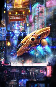 Sci-fi Petaling by johnsonting