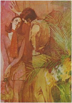 Young Romance, 1970 Illustration