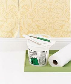 How to fix peeling wallpaper (it only takes a few minutes!).