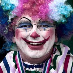 clowns = beautifully scary