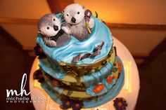 Gateaux's cake log: Otters Holding Hands