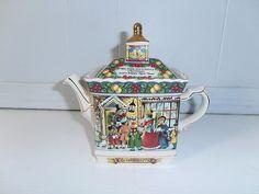 Sadler Tea Pot Teapot A Christmas Carol England   eBay