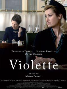 """""""Il n'y a que l'écriture qui te fait avancer..."""" Simone de Beauvoir à Violette Leduc... Violette est un film biographique français écrit et réalisé par Martin Provost, sorti en 2013. http://violetteleduc.net/"""