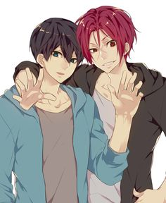 Rin and Haru // Free!