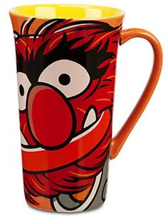 From The Muppets Most Wanted movie, comes this handsome Animal mug. It is a great gift idea for the man who loves Animal and the Muppets. Muppets Disney, Disney Mugs, Wanted Movie, Muppets Most Wanted, The Originals Show, Animal Mugs, Movie Gift, Disney Kitchen, Latte Mugs