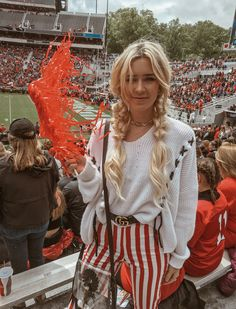 College game day girl College game day outfit MccallandDaryl Tan … – Fashion Of Game Day Day Party Outfits, Winter Outfits, Summer Outfits, Cute Outfits, College Games, College Game Days, College Football, Kendra Scott, Tailgate Outfit