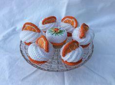 Virkade apelsinbakelser