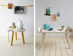 Slow Wood, handmade wooden furniture crafted in Fryslân (Netherlands).
