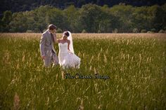 The Classic Image: Our wedding photographer in Cooperstown.  In a fie...