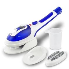 Portable Steam Iron,Anyasun Mini Multi-function Handheld Fabric Steamer For Clothes Fast Heat-up Powerful Household Garment Steamer Iron Brush with Ceramic Soleplate,Perfect for Home &Travel Joanna Gaines, Best Garment Steamer, Christmas Friends, Christmas Ideas, Christmas Sale, Ferro A Vapor, Iron Steamer, Fabric Steamer, Hot Steam