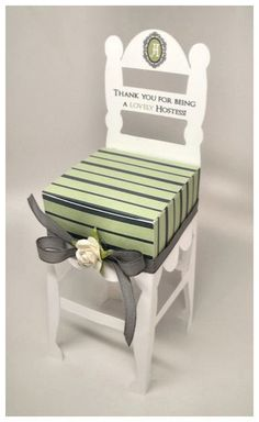 Chair-ish You :Hostess Gift Box