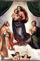 Sistine Madonna, Old Masters Gallery, Dresden