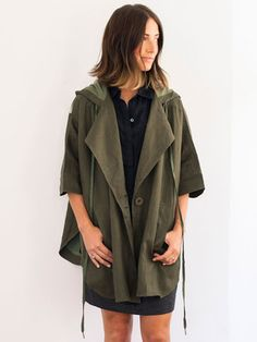 Linen Cape by 7115 for Of a Kind