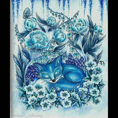 My winter fox ❤ #blomstermandala #blomstermandalamålarbok #mariatrolle #colorchallenge #instacoloring #coloring_masterpieces #coloring_secrets #adultcoloring #adultcolouring #colouringforadults #coloringforadults #coloringbook #coloredpencil #pencil #funart #beautifulcoloring #sztukakolorowania #kolorowankidladorosłych #relax #fangcolourfulworld #kolorowamafia #coloringisfun #coloring #arte_e_colorir #divasdasartes #boracolorirtop #artecomoterapia #coloringaddict
