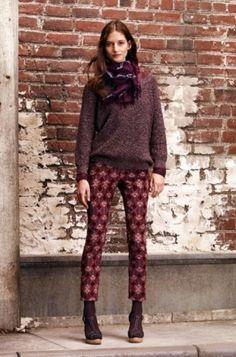 I want printed pants...