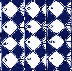 scandinavian fabric Almedahls Frisco vtg 50s Heals Stig Lindberg era retro #27 | eBay