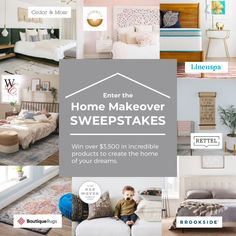 Win A Home Makeover! Over $3,500 in product! Win A House, Fresco, Win Prizes, Enter To Win, My Dream Home, Home Furnishings, Giveaway, Sweet Home, The Incredibles