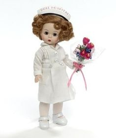 New Madame Alexander Get-Well-Wishes Wendy 8-inch Nurse Doll #MadameAlexander #Doll