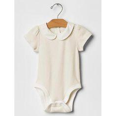 Gap Peter Pan Collar Bodysuit #accessories #covetme #gap