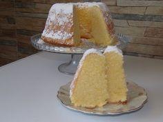 Domowe ciasta i obiady: Cytrynowa babka puchowa Vanilla Cake, Cooking Recipes, Cheese, Food, Bakken, Essen, Chef Recipes, Meals, Eten