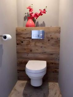 Is your home in need of a bathroom remodel? Here are Amazing Small Bathroom Remodel Design, Ideas And Tips To Make a Better. Bathroom Inspiration, Bathroom Decor, Toilet, Small Bathroom Remodel, Bathrooms Remodel, Bathroom Closet, Wc Ideas, Toilet Design, Home Deco