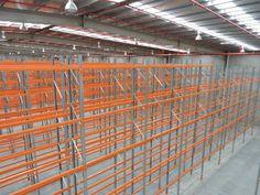 Custom designed pallet racking solution for new warehouse