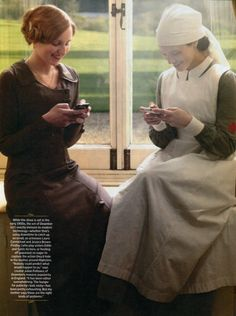 downton abbey style texting