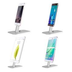 Amazon.co.jp: Spinido® iPhone 対応 アルミニウム制 スマートフォン デスク トップ 充電 スタンド Lightningケーブル体型 iPhone5/5c/5s/6/Plus/SE/iPad mini対応 (grey): 家電・カメラ