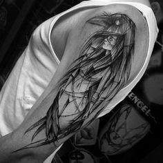 """""""Done at @rocknroll_tattoo_katowice #btattooing #equilattera #inkstinctsubmission #blacktattooart #blacktattoomag #tattoo #black #blackwork #blackworkers…"""""""