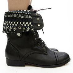 ROXY Boston Womens Boots | Black combat boots | Shoes | Pinterest ...