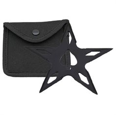 This 5 point Spade ninja throwing star is weighted for better results. Comes with a nylon case. Ninja Gear, Ninja Weapons, Shuriken, Throwing Knives, Post Apocalypse, Katana, Tactical Gear, Assassin, Gears