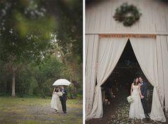 Barn wedding. Photography by Stone Crandall.