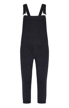 Primark Black Skinny Fit Denim Dungaree Outfit Ideas