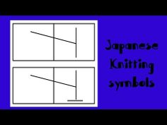 [ Knitting Tutorial ] Japanese Knitting Symbols # 9 - Make 1 sitch (Left slant knit increase)