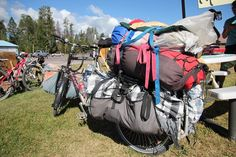 Know Your Load | Adventure Cycling Association -How much gear to take on a cross country trip