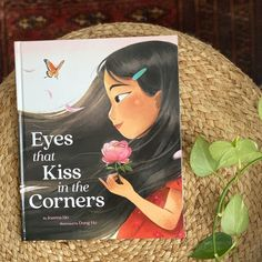 """This lyrical, stunning picture book tells a story about learning to love and celebrate your Asian-shaped eyes, in the spirit of Hair Love by Matthew A. Cherry, and is a celebration of diversity. """"This tale of self-acceptance and respect for one's roots is breathtaking."""" —Kirkus (starred review) 📸 @teachforthechange"""