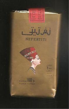 NEFERTITI 100's filter 20 Sigarette pacchetto morbido(...