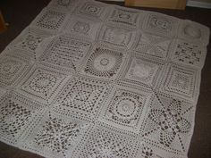 10 Free Crochet Patterns for Fast Afghans. Unique Granny Squares
