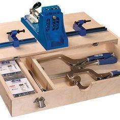 FREE Project Plan: Kreg Jig Storage Unit
