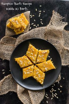 Pumpkin Burfi is a delicious sweet prepared with pumpkin & Chickpea flour (Besan). It's an indulgent dessert perfect to suit any special occasion.