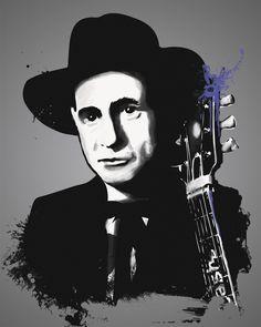 Johnny Cash, Tinted Style | http://www.yourpainting.de/motive-artikel/johnny-cash