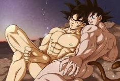 Goku en Vegeta Gay Sex