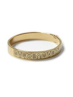 Marc by Marc Jacobs Skinny Hinge Bangle | Piperlime