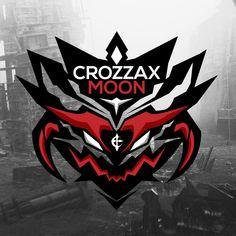 CrozzaxMoon Logo Logo Desing, Game Logo Design, Esports Logo, Bussiness Card, Mascot Design, Gaming Wallpapers, Graphic Design Print, Graphic Illustration, Illustrations