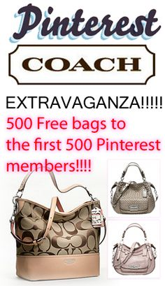 Just got my complimentary Coach hand bag!! Do you like the one I picked?