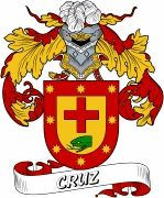 De Cruz Spanish Coat Of Arms www.4crests.com #coatofarms #familycrest #familycrests #coatsofarms #heraldry #family #genealogy #familyreunion #names #history #medieval #codeofarms #familyshield #shield #crest #clan #badge #tattoo #crests #reunion #surname #genealogy #spain #spanish #shield #code #coat #of #arms