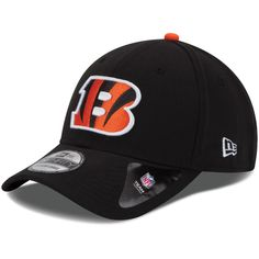 dc5cbb9a2efd5 Youth Cincinnati Bengals New Era Black Team Classic 39THIRTY Flex Hat