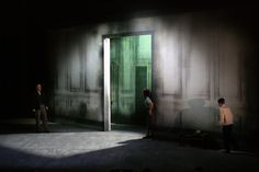 """Set and Costume design for """"Turn of the Screw"""", directed by Oliver Mears, Northern Ireland Opera designer Annemarie Woods"""