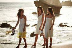 Barely-there colors like our exclusive Sea Glass are perfect for a beach wedding.