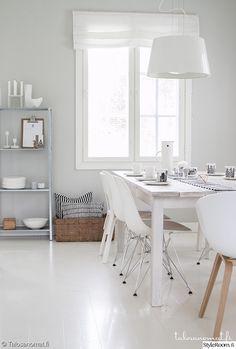 """Jäsenen """"Jenni_Talosanomat"""" keittiössä on valkoinen sisustus #styleroom #inspiroivakoti #keittiö"""